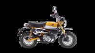 Gama 125cc. Foto lateral derecho de Honda Monkey de la gama de 125cc