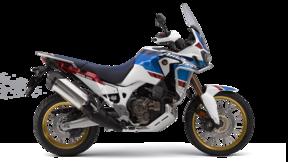 Honda Adventure. Lateral derecho de la Africa Twin Adventure Sports