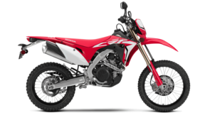 Vista lateral Honda CRF450L