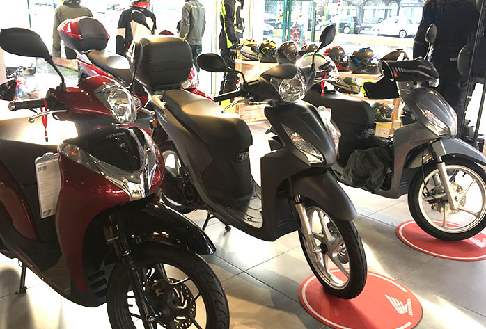 Scooter de Honda en Espaciomoto, el concesionario oficial de Honda Asturias