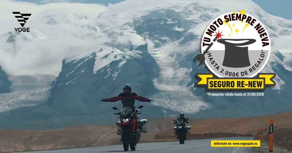 Voge motos oferta renew seguro gratis